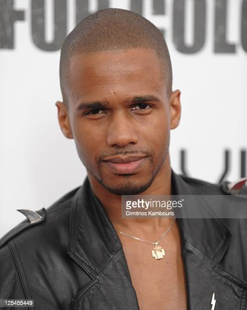 """Eric West attends the premiere of """"For Colored Girls"""" at the Ziegfeld Theatre on October 25, 2010 in New York City."""
