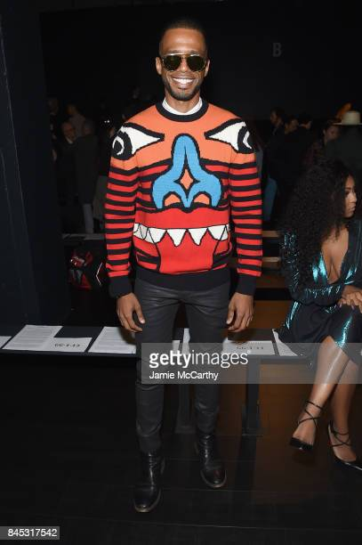Eric West attends Vivienne Tam fashion show during New York Fashion Week The Shows at Gallery 1 Skylight Clarkson Sq on September 10 2017 in New York...
