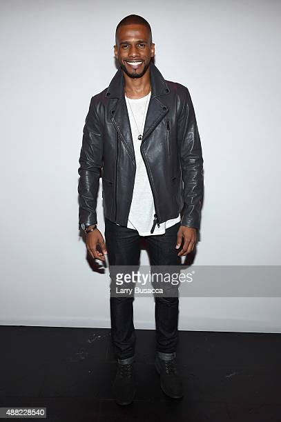 Eric West seen around Skylight at Moynihan Station during Spring 2016 New York Fashion Week The Shows on September 14 2015 in New York City
