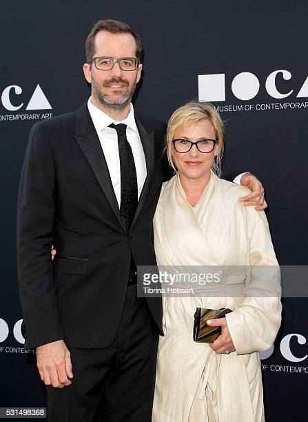 Eric White and Patricia Arquette attend the 2016 MOCA Gala at The Geffen Contemporary at MOCA on May 14 2016 in Los Angeles California