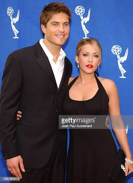 Eric Winter and Farah Fath during 31st Annual Daytime Emmy Awards Creative Arts Presentation Arrivals at Grand Ballroom at Hollywood and Highland in...