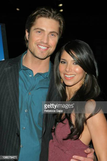 Eric Winter and Roselyn Sanchez during Cayo Los Angeles Screening Arrivals at The Harmony Gold Theater in Los Angeles California United States