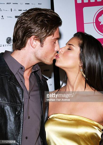 "Eric Winter and Roselyn Sanchez during ""Yellow"" Screening at the Los Angeles Latino International Film Festival 2006 at Egyptian Theater in..."