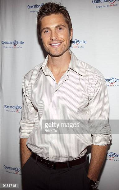 Eric Winter attends 8th Annual Operation Smile PreGala KickOff Reception at Lladro Boutique on October 1 2009 in Beverly Hills California