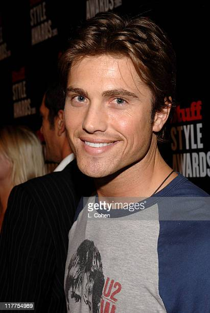 Eric Winter during 2005 Stuff Style Awards - Red Carpet at Hollywood Roosevelt Hotel in Los Angeles, California, United States.