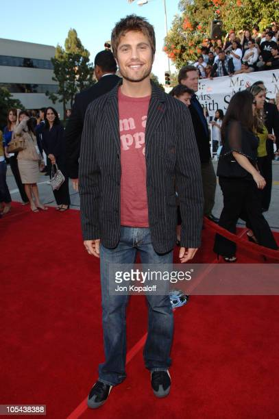 Eric Winter during Mr Mrs Smith Los Angeles Premiere at Mann's Westwood in Westwood California United States