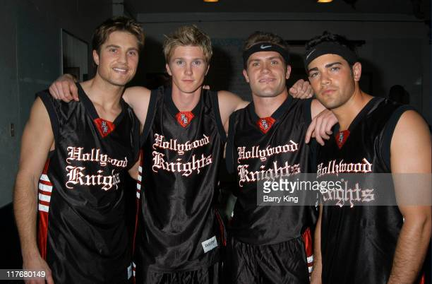 Eric Winter, Thad Luckinbill, Kyle Brandt, and Jesse Metcalfe