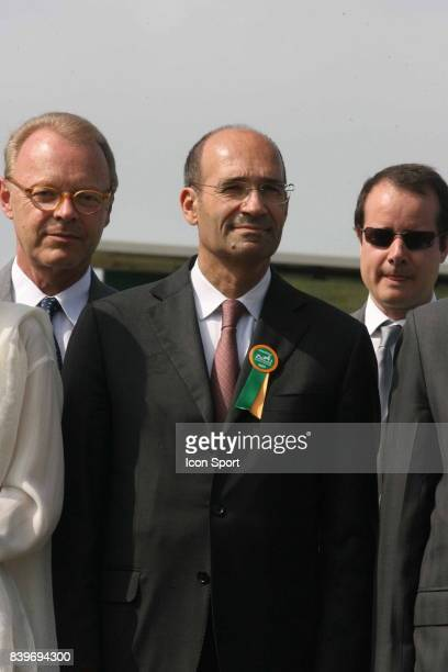Eric WOERTH ministre du budget Grand Prix Diane Hermes 2007 a Chantilly