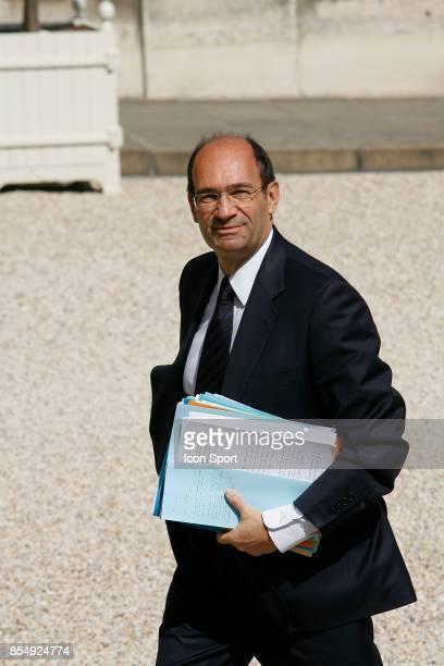 Eric WOERTH Ministre du Budget Conseil des Ministres Remaniement Ministeriel de Juin 2009 Palais de l Elysees Paris