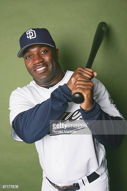 Eric Young poses for a portrait during the San Diego Padres Photo Day at Peoria Stadium on February 26 2006 in Peoria Arizona