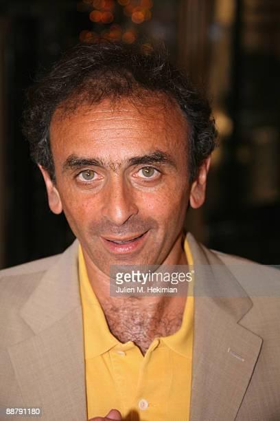 Eric Zemmour attends the 25th edition of 'La fete du cinema' at Ministere de la Culture on June 30 2009 in Paris France