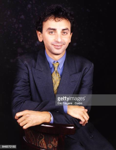 Eric Zemmour poses during a portrait session in Paris France on