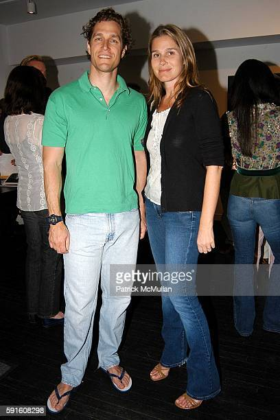 Eric Zinterhofer and Aerin Lauder attend at on May 28 2005