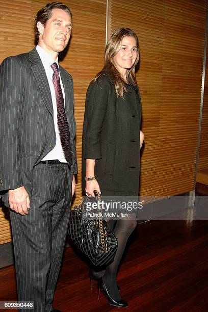 Eric Zinterhofer and Aerin Lauder attend MEN'S VOGUE hosts a Private Screening of the Season Premiere of 24 at The Core Club on January 11 2007 in...