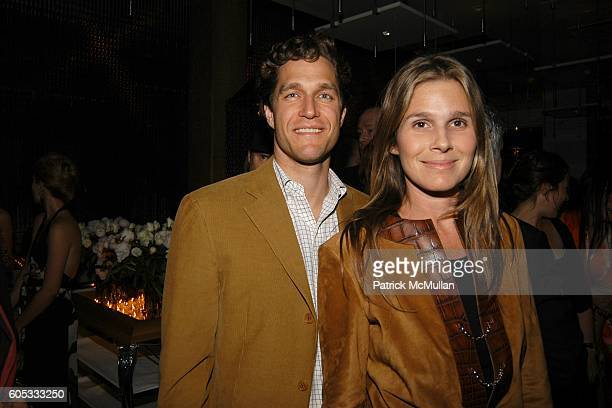 Eric Zinterhofer and Aerin Lauder Zinterhofer attend Opening of MR CHOW hosted by Eva and Michael Chow at Mr Chow's on May 4 2006 in New York City
