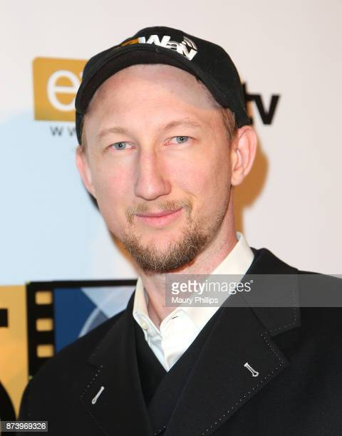 Eric Zuley arrives at Flicks4Change film festival Day 2 at Boomtown Brewery on November 13 2017 in Los Angeles California