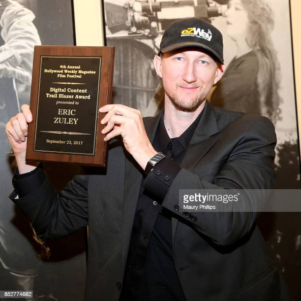 Eric Zuley attends Hollywood Weekly Magazine 4th Annual film festival at Raleigh Studios on September 23 2017 in Los Angeles California