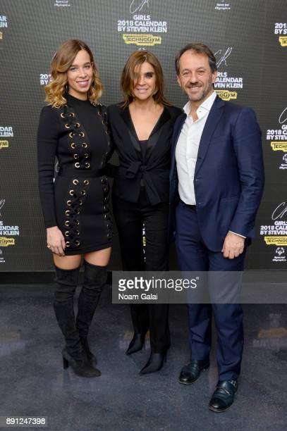 Erica Alessandri Carine Roitfeld and Pierluigi Alessandri attends the CR Fashion Book Celebrating launch of CR Girls 2018 with Technogym at Spring...