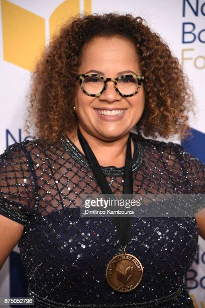 Erica Armstrong Dunbar attends the 68th National Book Awards at Cipriani Wall Street on November 15 2017 in New York City