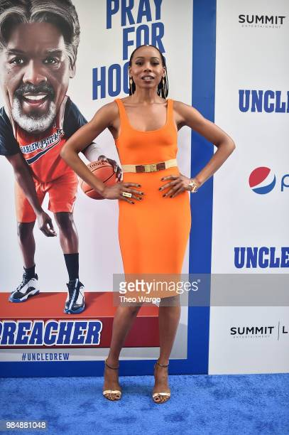 Erica Ash attends the Uncle Drew New York Premiere on June 26 2018 in New York City