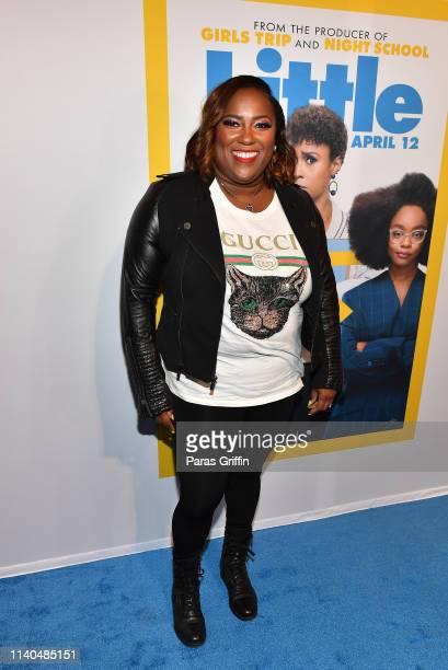 Erica Barrett attends Little Atlanta red carpet screening at Regal Atlantic Station on April 04 2019 in Atlanta Georgia