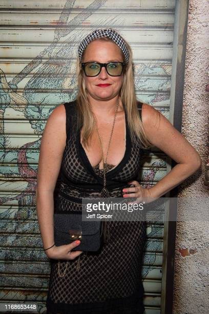 Erica Bergsmeds attends a VIP event in celebration of Elijah Rowen's birthday at ICEBAR on August 17 2019 in London England