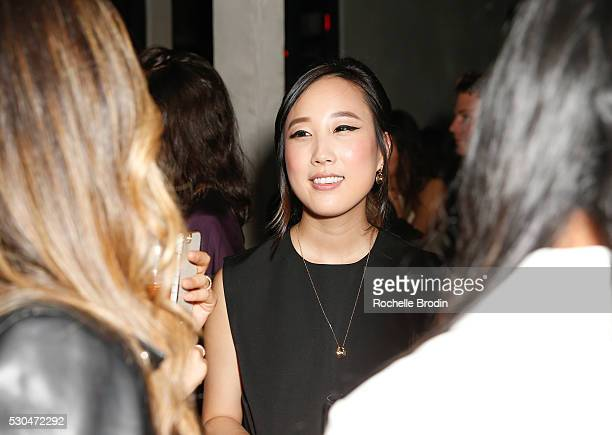 Erica Choi attends the Who What Wear visionaries launch event at Ysabel on May 10 2016 in West Hollywood California