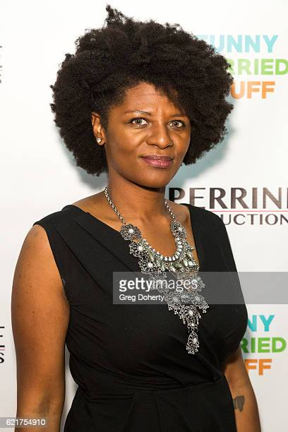 Erica Crickle arrives for the Screening Of Perrine Productions' 'Funny Married Stuff' at the ACME Comedy Theatre on November 7 2016 in Los Angeles...