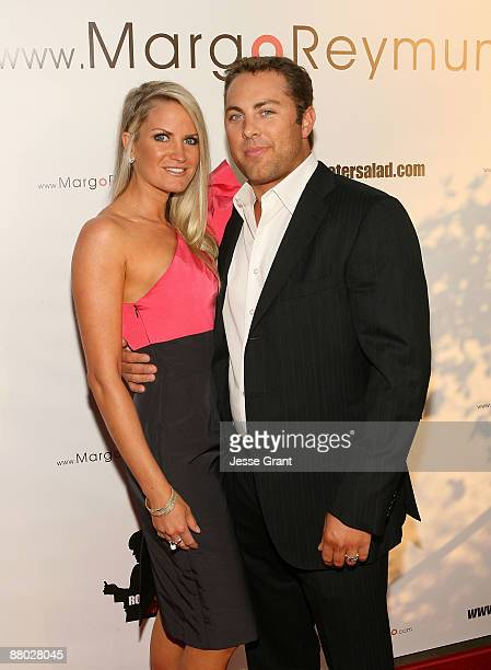 Erica Dahm and Jay McGraw attend the Margo Reymundo of Organica Records CD debut party at Vibrato Grill Jazz on May 27 2009 in Beverly Hills...