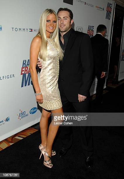 Erica Dahm and Jay McGraw during 14th Annual Race to Erase MS Themed Dance to Erase MS Red Carpet at Hyatt Regency Century Plaza in Century City...