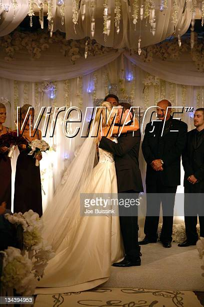 Erica Dahm and Jay McGraw during Dr Phil's Son Jay McGraw and Erica Dahm Wedding Photos at Private Home in Beverly Hills California United States
