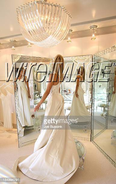 Erica Dahm during Dr Phil's Son Jay McGraw and Erica Dahm Wedding Photos at Private Home in Beverly Hills California United States