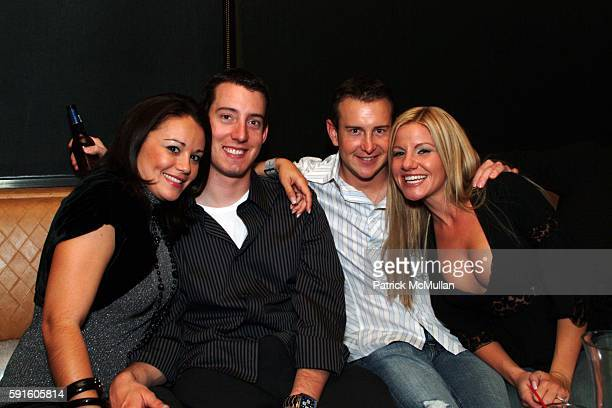 Erica Dewey Kyle Busch Kurt Busch and Eva Bryan attend 2005 NASCAR NEXTEL CUP SERIES CHAMPION'S PARTY at MARQUEE PRESENTED BY SPRINT on December 1...
