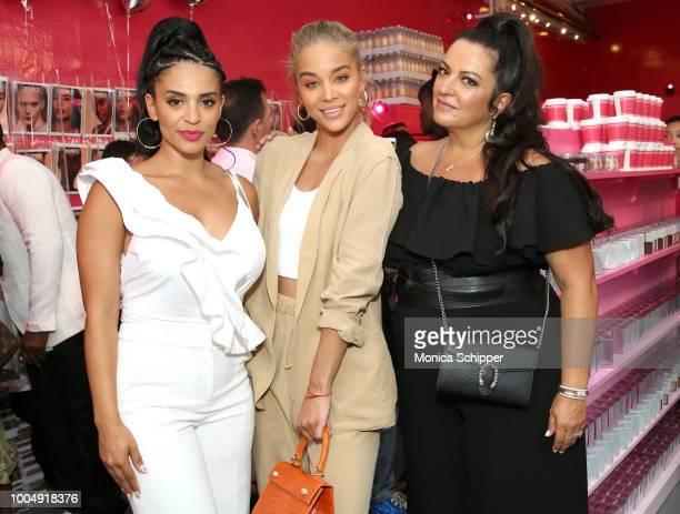 Erica Dickerson Jasmine Sanders and beautyblender Founder Rea Ann Silva join beautyblender to celebrate the launch of beautyblender BOUNCE Liquid...
