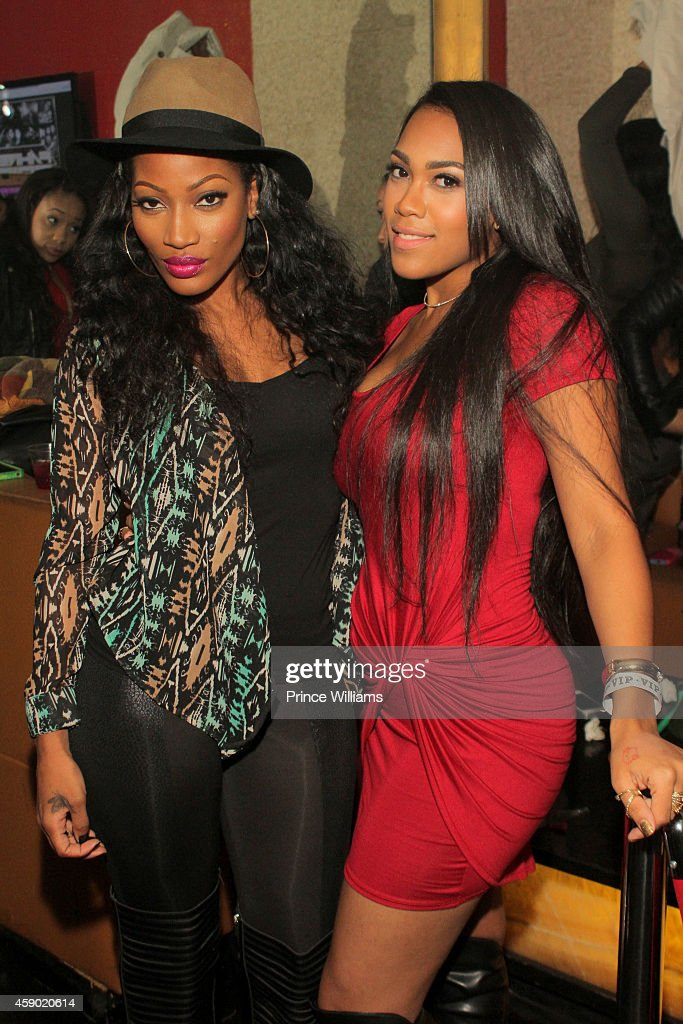 erica dixon and nia riley attends harlem nights on
