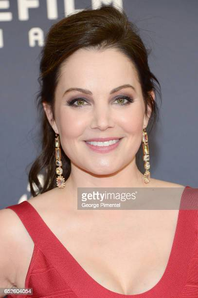 Erica Durance attends 2017 Canadian Screen Awardsat Sony Centre For Performing Arts on March 12 2017 in Toronto Canada