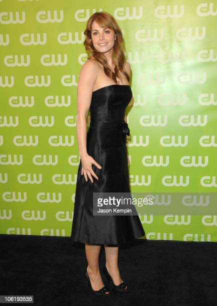Erica Durance during The 2007 CW Network Upfront Arrivals at Madison Square Garden in New York City New York United States