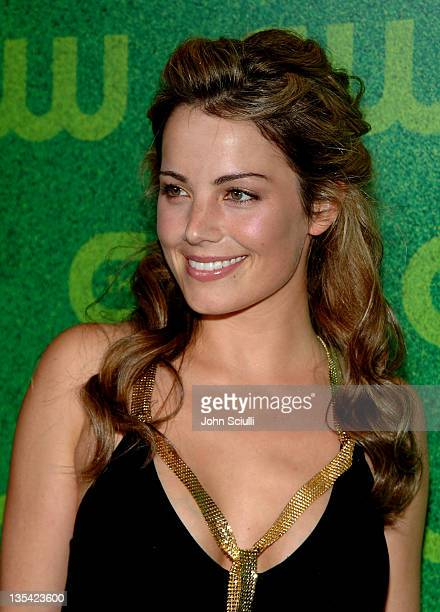 Erica Durance during The CW Summer 2006 TCA Party Arrivals at Ritz Carlton in Pasadena California United States