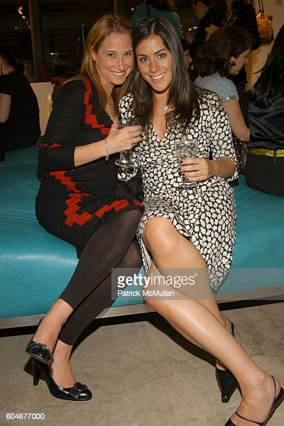 Erica Ehrlich and Courtney Gaylor attend GILDA'S Club Worldwide Benefit at DKNY Flagship Store on September 28 2006 in New York City