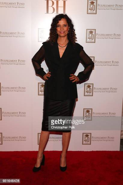 Erica Gimpel attends A Legacy Of Changing Lives presented by the Fulfillment Fund at The Ray Dolby Ballroom at Hollywood Highland Center on March 13...