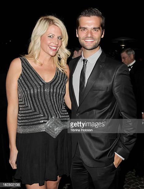 Erica Greve and Ben Decker attend the 4th annual Face Forward LA Gala at Fairmont Miramar Hotel on September 28 2013 in Santa Monica California