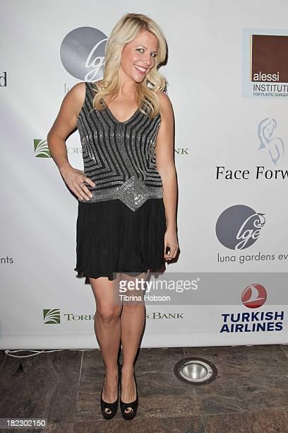 Erica Greve attends the 4th annual Face Forward LA Gala at Fairmont Miramar Hotel on September 28 2013 in Santa Monica California