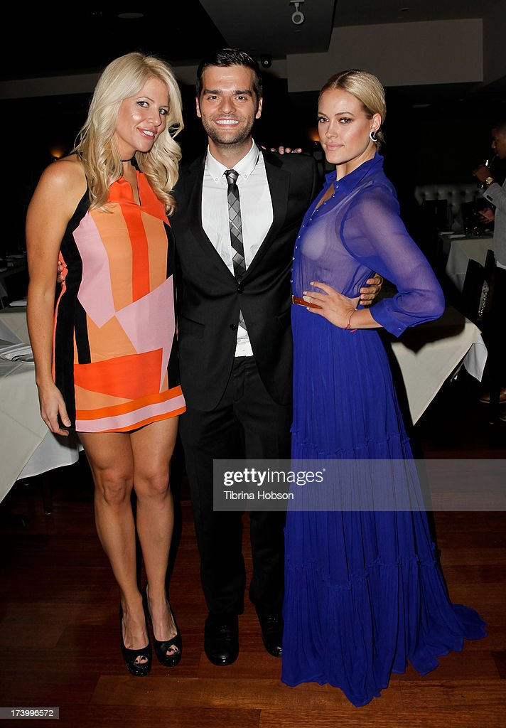 Erica Greve, Ben Decker and Peta Murgatroyd attend Chelsie Hightower and Peta Murgatroyd's birthday party supporting anti-human trafficking organization 'Unlikely Heroes' on July 18, 2013 in Los Angeles, California.