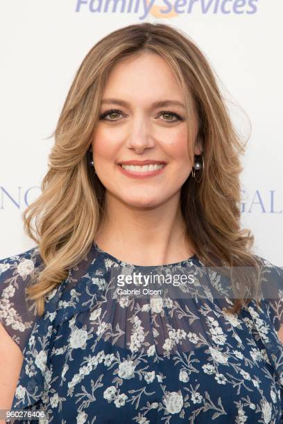 Erica Hanson arrives for the Uplift Family Services at Hollygrove's 7th Annual Norma Jean Gala at Hollygrove Campus on May 19 2018 in Hollywood...