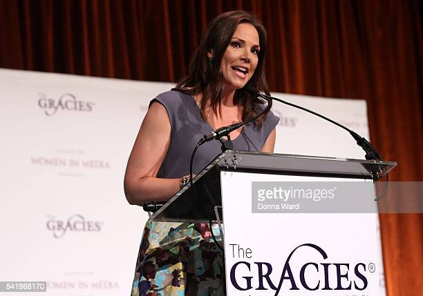 Erica Hill appears during the 41st Annual Gracies Awards Luncheon at Cipriani 42nd Street on June 21 2016 in New York City