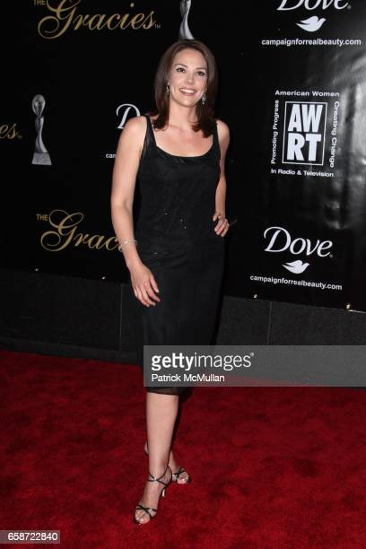 Erica Hill attends AMERICAN WOMEN IN RADIO AND TELEVISION 2009 GRACIE AWARDS at Marriott Marquis on June 3 2009 in New York City
