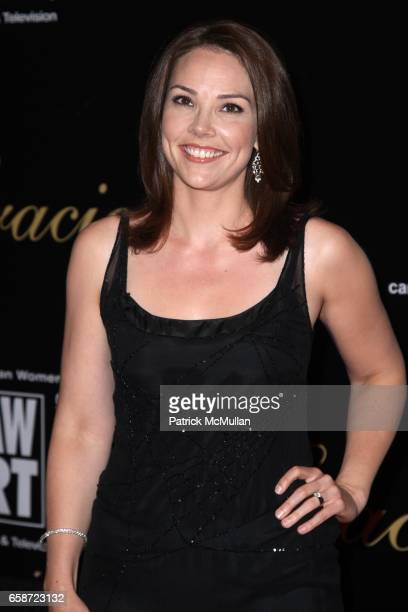 Erica Hill attends AMERICAN WOMEN IN RADIO AND TELEVISION 2009 GRACIE AWARDS at Marriott Marquis on June 3, 2009 in New York City.
