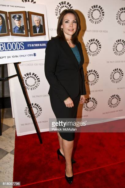 Erica Hill attends BLUE BLOODS, CBS Show Premiere at The Paley Center For Media on September 22, 2010 in New York City.