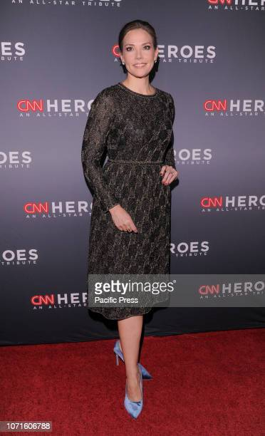 Erica Hill attends the 12th Annual CNN Heroes An AllStar Tribute at American Museum of Natural History
