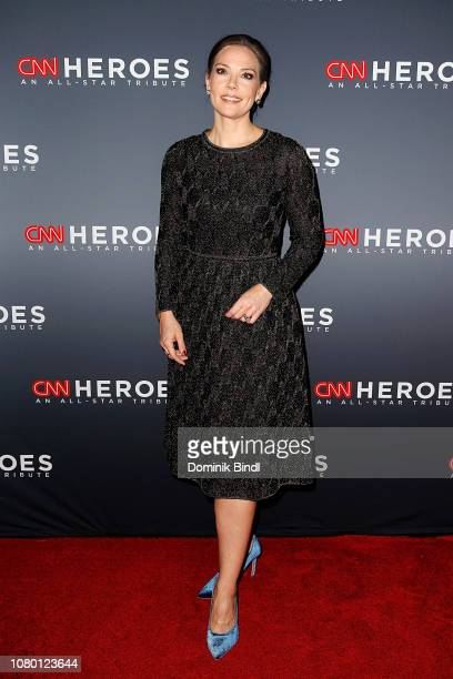 Erica Hill attends the 12th Annual CNN Heroes An AllStar Tribute at American Museum of Natural History on December 09 2018 in New York City